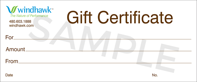 Windhawk Gift Certificate