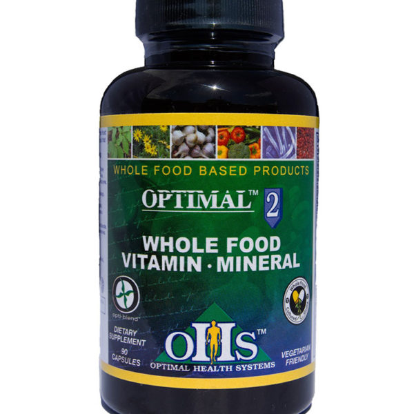 Optimal2 Whole Food Vitamin & Mineral