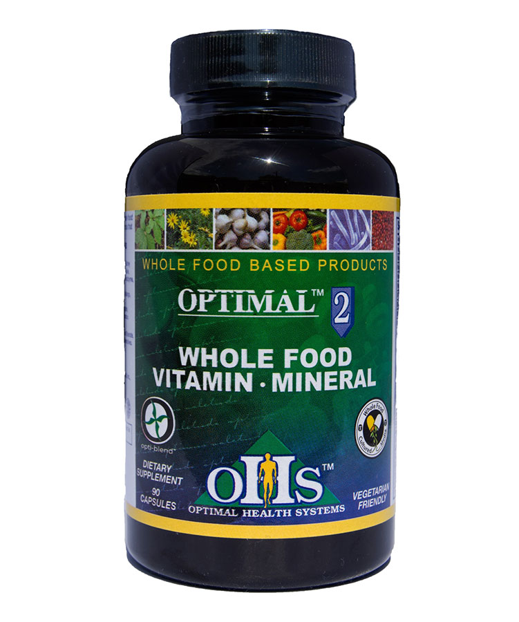 Optimal2 Whole Food Vitamin & Mineral